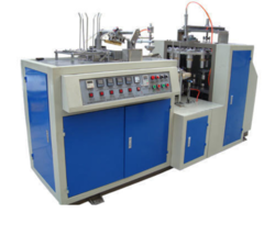 Silver Pattal Dona Forming Machine