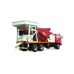 Truck Mounted Concrete Batching Plant