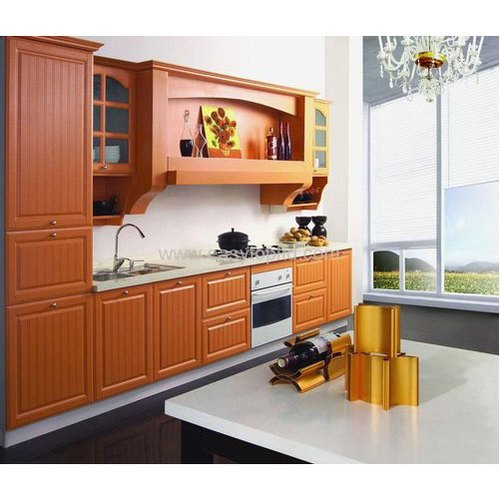 Classic Brown Mdf Kitchen Cabinet Rs 1300 Square Feet Lacocina Id 20586809291