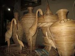 Brown Bamboo craft items, For Decoration