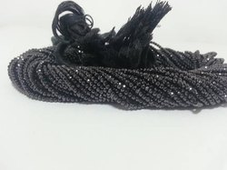 Gemstone Beads 2mm Black Spinel
