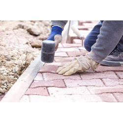 1000 sq ft Paver Block Flooring Services in Industrial