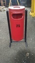 Code: D-2 FRP Cylindrical Dustbin with stand