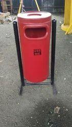 FRP Cylindrical Dustbin (Code D-2)