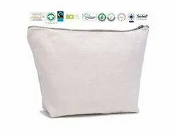 Reusable Organic Cotton Pouch Bag