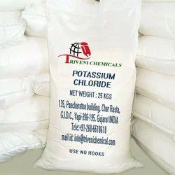 Potassium Chloride Powder, Packaging Type: Bag