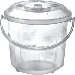 Plastic Clear Buckets