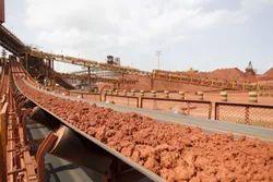 Bauxite Handling Belt Conveyors
