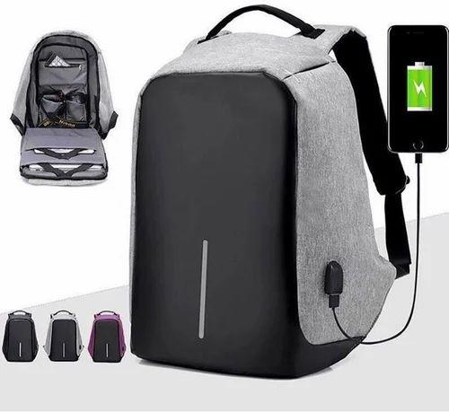 Usb Charging Anti Theft Backpack Bag