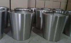 Stainless Steel Conical Planter