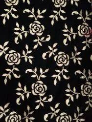 Laser Cut Gota Patti Embroidered Fabric