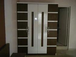 Wood 24381828 Mm Wardrobes Rs 47000 number Ganpati Decor ID