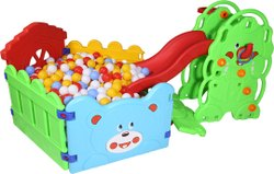 Elephant Slide With Ball Pool