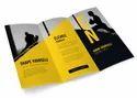 Paper And Paperboard Advertising Brochure, Folded Leaflet