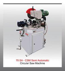 Semi Automatic Circular Sawing Machine