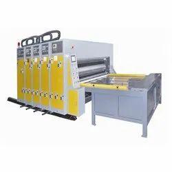 Chain Feeding Flexo Printing and Slotting Machine
