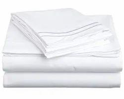 disposal Hospital White Bedsheet