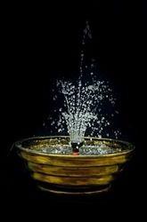 Metallic Look Crown Fountain