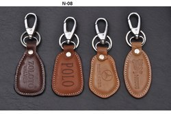 Dog Hook Leather Key Chain