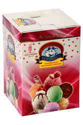 Ice Cream Brick Box  4 Ltr
