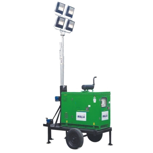 Pure White Mobile Telescopic LED Light Tower, Ip Rating