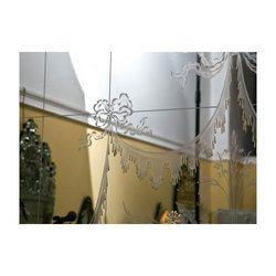 Decorative Etched Mirror