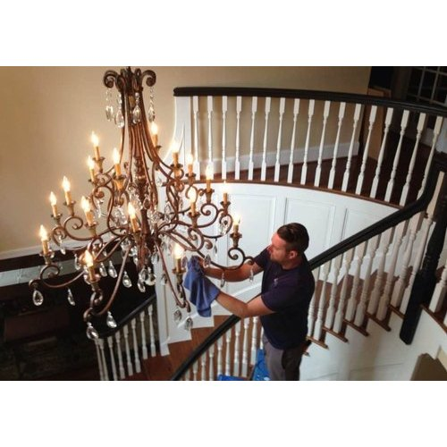 Chandelier Cleaning Services In South, Cleaning A Chandelier