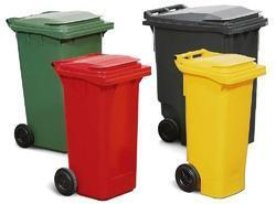 1800- 20000 rs Wheeled Garbage Can