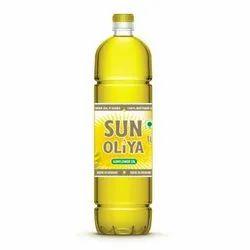 Sun Oliya Liquid Olein Sunflower Oil, Packaging Size: 1 Litre