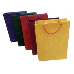 Craft Paper Carry Bag, For Shopping, Capacity: 2-5 kg