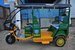 Kuku Greens Electric Rickshaw