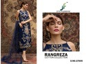 Juvi Fashion Rangreza Pure Cotton Self Embroidery Pakistani Salwar Kameez