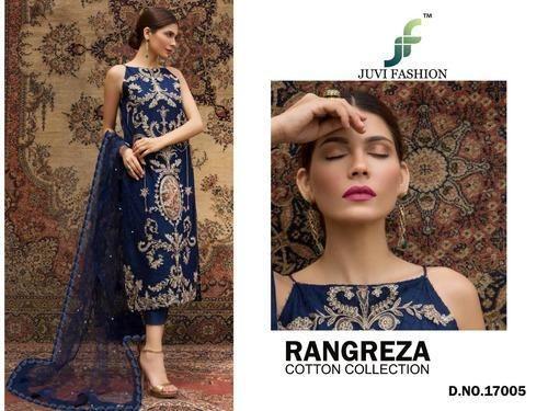 97732ee2c4 Juvi Fashion Rangreza Pure Cotton Self Embroidery Pakistani Salwar Kameez