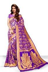 Ladies Party Wear Silk Sarees