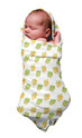 Organic Baby Muslin Blanket / Swaddles