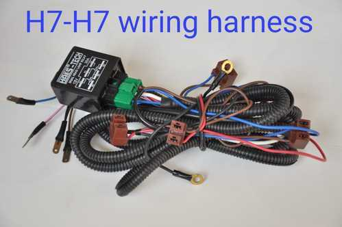 H7 H7 Wiring Harness Harness Wiring Adapter on