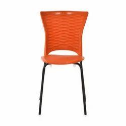 Nilkamal Plastic Chair, Size: 435 W x 440 D x 830 H mm