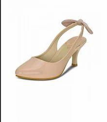 Kielz Women's Pink Stiletto Sandals