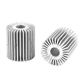 Jindal Round Heat Sink Aluminum Sections