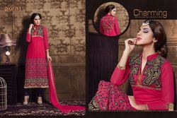 Semi-Stitched Ladies Salwar Suits