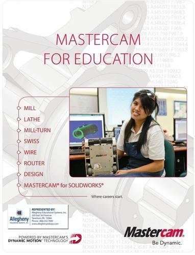 Manufacturing Engineering Software - Mastercam For Education CAM