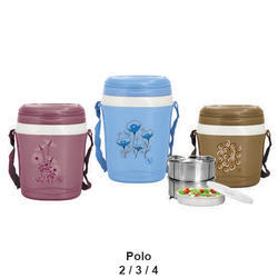 GOODDAY ALL COLOR Polo 3 Insulated Lunch Tiffin, Capacity: 2/3/4,
