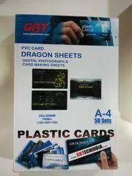 GBT Plastic Card Dragon Sheets