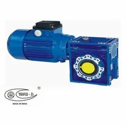 0.186 To 3.72 Kw. 10 To 400 Rpm Three Phase Gear Motor, 440 V