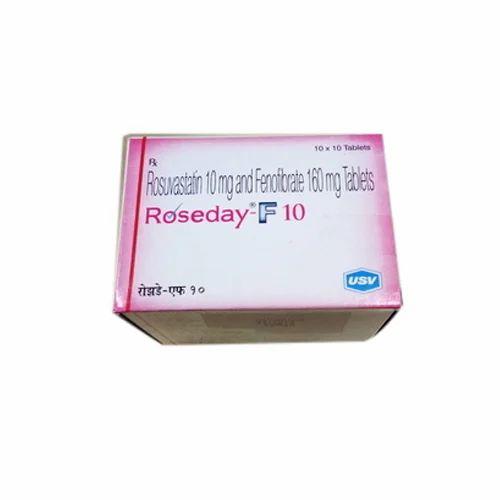 USV Roseday F 10 Tablet, Packaging Type: Box, 10 Mg, | ID: 19056803530