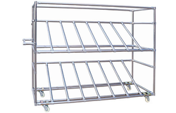 WIPL Modular System Stainless Steel Pipe Rack
