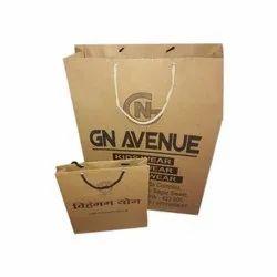 Brown Craft Paper Packaging Bag, Capacity: 1kg