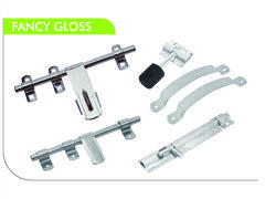 Fancy Glossy Stainless Steel Door Kit