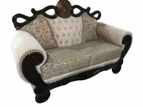 White Wooden Modern Sofa