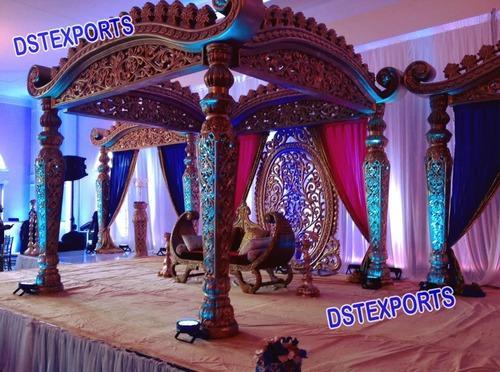 Customized grand indian wedding decoration mandap usage wedding customized grand indian wedding decoration mandap usage wedding event junglespirit Image collections